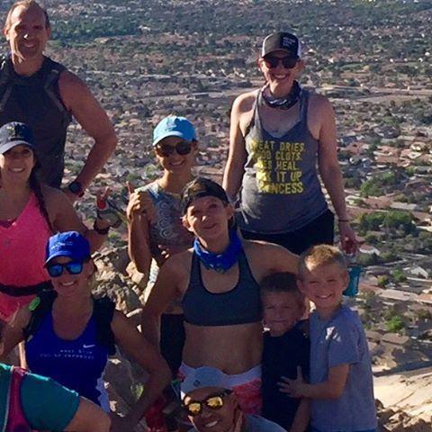 Monday morning group run & summit! (4 of 9)