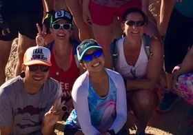 Monday morning group run & summit! (2 of 9) [instagram]