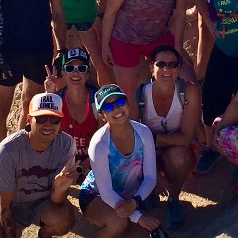 Monday morning group run & summit! (2 of 9)