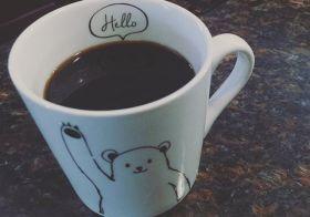 Monday. #goodmorning #coffee #blackcoffee [instagram]