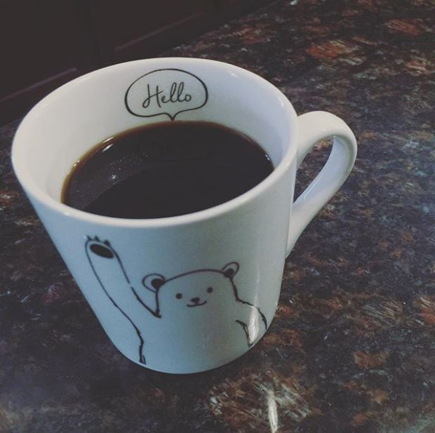 Monday. #goodmorning #coffee #blackcoffee