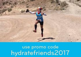 My advice when trail running in the desert: 1) Always stay hydrated. 2) Ride your invisible unicorn when possible. : Ricardo C. Discount courtesy of @nuunhydration #nuunlife #trailrunningvegas #ultramarathoner #trailjunkie [instagram]