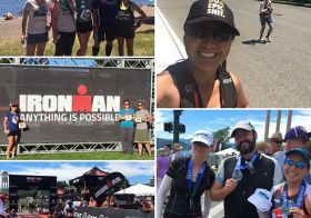 What's more awesome than finishing 2mins close to my PR despite double-training for an ultra and 70.3?! FAMILY AND FRIENDS. #nuunlife #racewithbase #hutchsbicyclegarage #triathlete #im703cda #grateful #paragonLV [instagram]