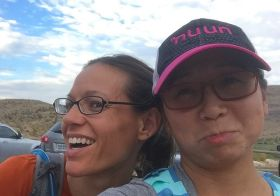 It was the last Monday Night trail run for my friend Jessica. We'll miss her and @jewelcaveexplorer as they both go on their adventures! #nuunlife #trailrunningvegas #trailjunkie #latergram [instagram]