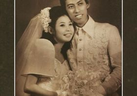 Happy 45th Anniversary to my Parental Units! Love them so much. [instagram]