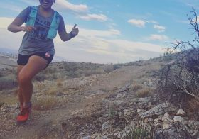 My expression whenever I'm out on my fav trails! #trailrunningvegas [instagram]