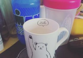 Current state: Coffee cup empty. Must. Refill. [instagram]