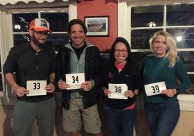 This was last night at the AYCE spaghetti dinner for Calico Trail 50km in Calico Ghost Town, CA. Selfies from the race to follow. Ima pass out now lol. #Repost @desertdashtrailraces ・・・Good luck to our ambassadors at the Calico race! [instagram]