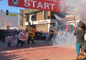 So epic. #FirecrackerLA #chinatown #running [instagram]