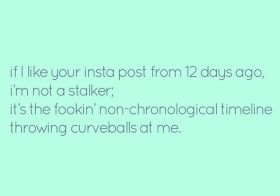 FYI 🤣 #keepinstagramchronological [instagram]