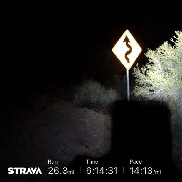 Devil After Dark at Lovell Canyon was a tough and beautiful course! Was totally unprepared but needed the mileage  Training run complete.  Group 📸: @mmeviltwin Thanks for the #poptarts @rmanon 🏽🏽