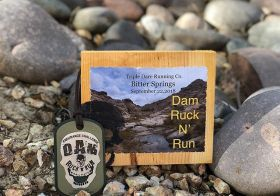 A special medal Monday for an event I had never done and didn't think I could do: a ruck! It had PT, survival supper, 6mi uphill hike, blowdart shooting, and much more whilst wearing a 22lbs rucksack! Next year, I'll do the double. [instagram]
