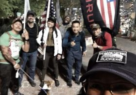 Finally got to join the Tuesday Ruck 'n' Beer with the #VegasStrong Ruckers! Great fun & some memorable moments! 🤣 Oh! And it was the maiden ruck of my new #GoRuck Rucker pack 🏽 #goruckclub #downtownvegas [instagram]