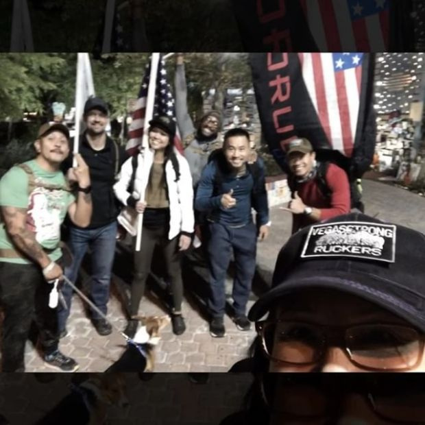 Finally got to join the Tuesday Ruck 'n' Beer with the #VegasStrong Ruckers! Great fun & some memorable moments! 🤣 Oh! And it was the maiden ruck of my new #GoRuck Rucker pack 🏽 #goruckclub #downtownvegas