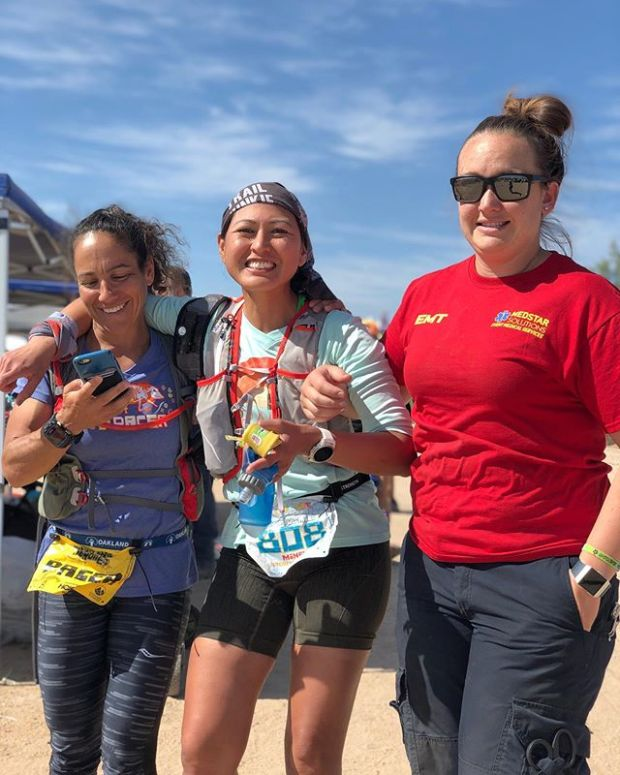 Over the weekend, I crewed my sisypoo @runtricpa at @javelinajundred for her first ever 100 mile race. She's been at JJ before and loved her 100km finish & buckle. This time was no different: she was all smiles, was in good spirits, and had great fun. Unfortunately, she couldn't continue and dropped at mile 95. She's got no regrets though;She said she'll be back next year!  Love my strong and inspiring sisypoo!! More photos to follow 🏽#ultrarunner #ultrarunning #javelinajundred #trailjunkie