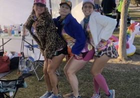 Jackpot Ultrarunning Festival (2/14-2/16/2020) was more of a party for me this year 🤪 Thanks to Ken & Stephanie, plus Asst-RD Lee for another great Jackpot! It was sisypoo's first 48hr event and second 100miler attempt and she got her buckle!! Also, it's always fun to see familiar faces on the course — some who I only get to see once a year 🤣. I got some decent miles in my 24hr race, but more importantly, motivation for IM Santa Rosa training! p.s., I took little photos  but my friends listed below filled in the void.  @sasha8716 @heidi.dove @r2ipics @kevlv @angieapril777 #tritraining #ultrarunning #nolawontheclaw #fireballwhiskey #multidayrace #ultramarathon #imsr #baseperformance [instagram]