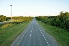 suburb road