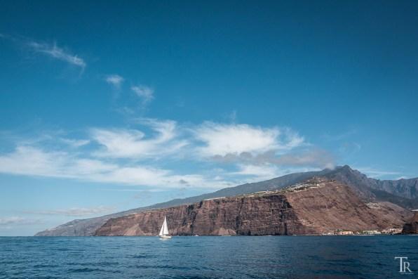 La Palma mit Segelboot