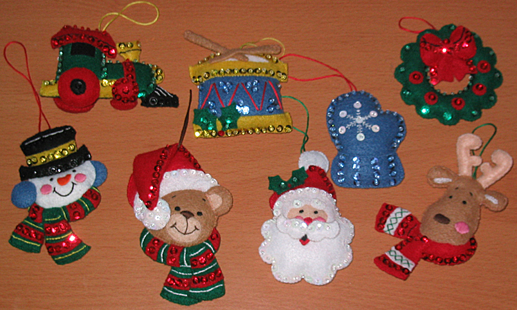Felt Ornaments I Ve Made Jessica S Corner Of Cyberspace