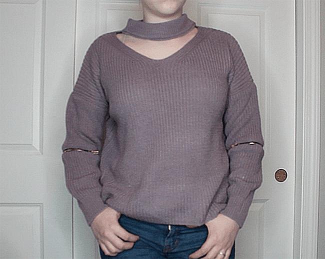 zafulchokersweater