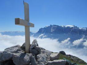 Gipfelkreuz Ochsenchopf 2179m