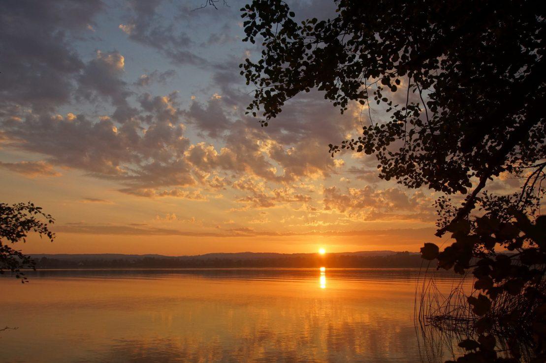 Sonnenaufgang am Greifensee