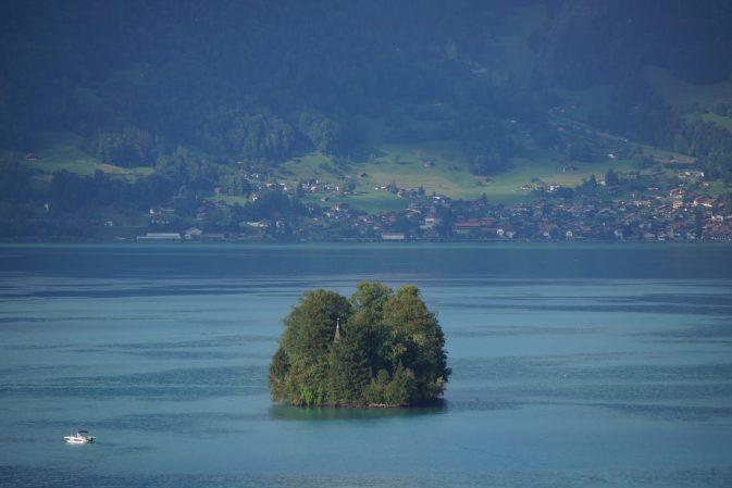 Schnäggeninseli bei Iseltwald