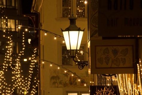 Weihnachtliches Zürich