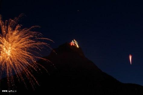 1. August Feuerwerk Glarus