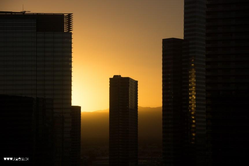 Sunrise in Las Vegas
