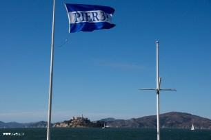 Pier 39 San Francisco with Alcatraz