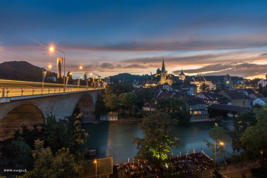Sommerabend Baden
