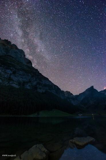 Seealpsee bei Nacht