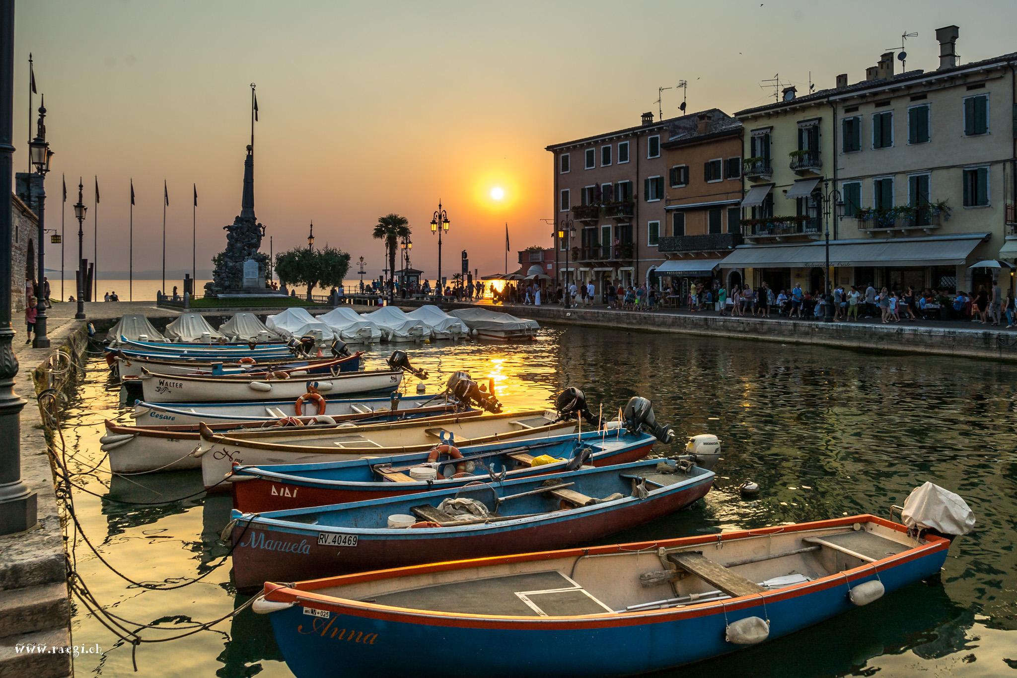 Hafen von Lazise