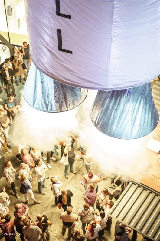 Raketenstart versus Erdanziehungskraft Badenfahrt 2017