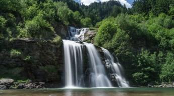 Piumogna Waterfall