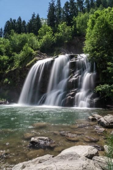 Wasserfall Piumogna in Faido