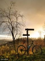 Biketour im Winterlicht