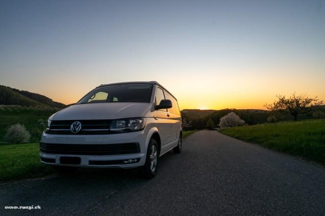 VW T5 California Beach