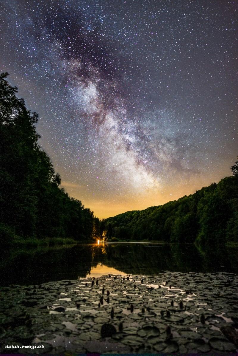 Nachtbild vom Egelsee