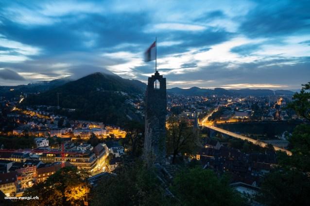 Morgendämmerung in Baden