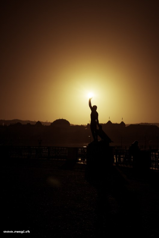 Ganymed-Skulptur
