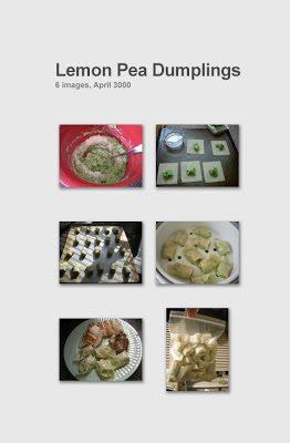 Eat It: Lemon-y Pea Dumplings