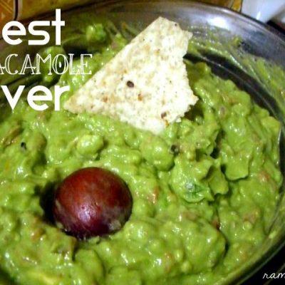 Recipe: Jana's Famous Guac (Vegan)