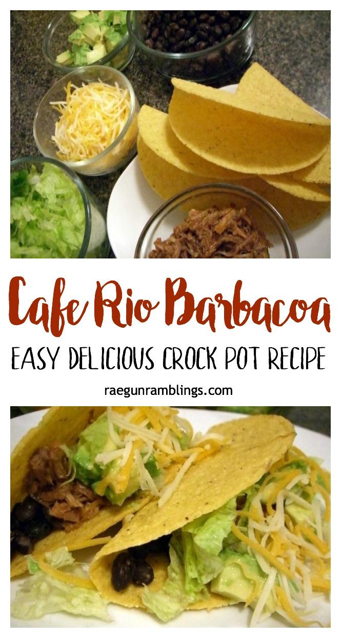super yummy barbacoa pork recipe. Freezer friendly knock off cafe rio meat.