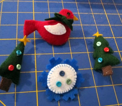 Show and Tell: Christmas Craft Day