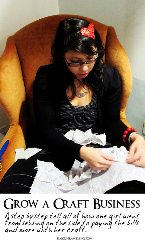 Steps to starting and growing a successful handmade craft business - Rae Gun Ramblings