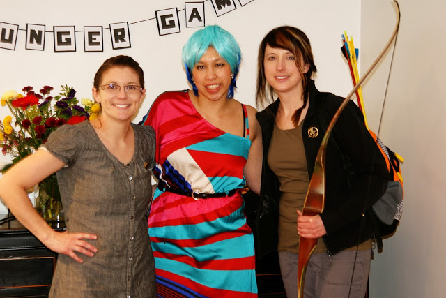 Lots of easy DIY Hunger Games Costumes great for Halloween or other parties