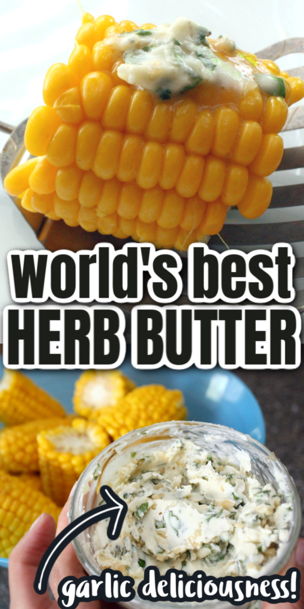 garlic herbed butter recipe perfect for vegetables and meat