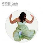 Matched dress. Fun DIY book inspired Cassia costume